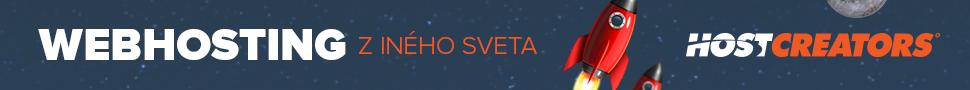 Hostcreators.sk webhosting